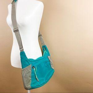REI Crossbody Yoga Bag Teal Turquoise